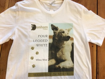 Four Legged White T-shirt