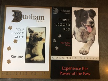 Three Legged Red & Four Legged White posters