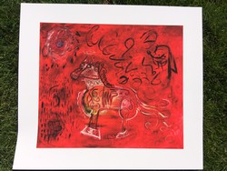 Red Horse Giclee Image